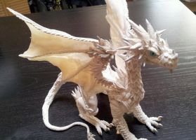 Custom Dragon Ice White by AstridMakosla