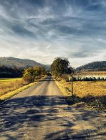 Autumn road 2 by FrantisekSpurny