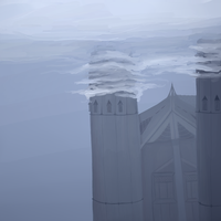 Just The Sad Lonely Spires by TheseWeirdFishes