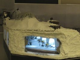 Office Train Layout - Hoth plus Model Trains. by deanatglobe