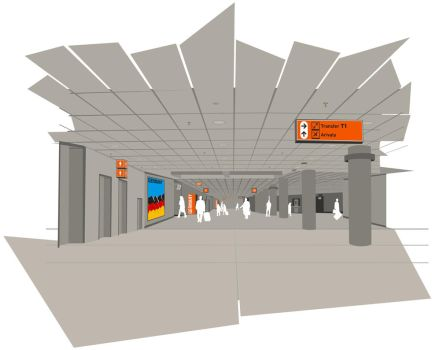 airport scenes_2 by B-positive