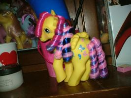 Custom MLP Alternate Rehair Dancing Butterflies by marienoire