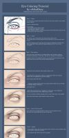 Eye Coloring Tutorial by ribkaDory