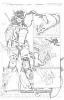 DCUHS 09 Huntress pg 3 PENCILS by wrathofkhan