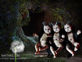 NC DollWood - DEVILS DAUGHTERS by NAKT-HAG