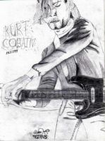Kurt Cobain 3 by Bnuldun