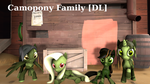 GaryD12's Camopony family [DL] by ColoredGhost