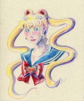 Colored Pencil Test by AlmightyHighElf