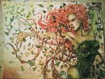 Poison Ivy Watercolored by dreamflux1