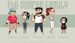 The Duncan Family - Revised by DrewGreen