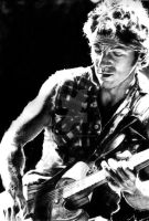 Bruce Springsteen by kristinaorjala