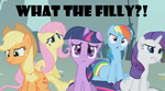 MLP - What the F-? by Maru-sha