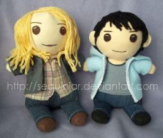 Jo Harvelle and Kevin Tran by sequinjar