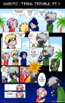 Naruto - Tribal Trouble. Pt 1 by Uberzers