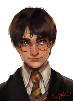 harry potter by Afternoontm