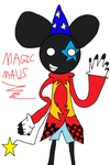 Magicmau5 is back! (with new style :D) by Deadmau5Nstuff