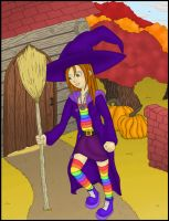 Halloween Witch 09' by somechick73