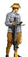 WWI ANZAC Soldier by hardbodies