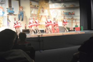 Dance Company Christmas Show,Santa's Tapping Girls by Miss-Tbones