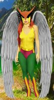The JSA Hawkgirl I by DaswookofHeromorph
