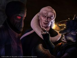Star Wars: Bib Fortuna by Thaldir