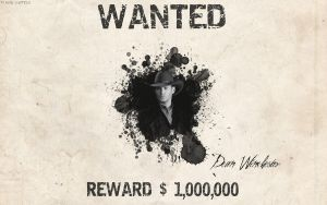 Wanted - Dean Winchester by madhutter