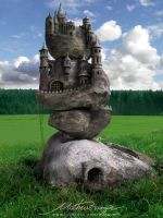 Stone Castle by Rungue