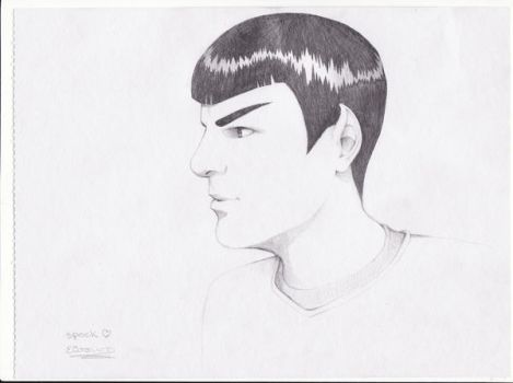 Young Spock by MrsCrepsley