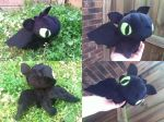 Toothless Plush by Glacdeas
