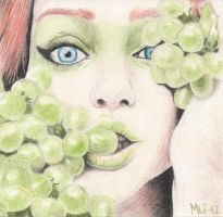 Grapes by MLiMLiMLi