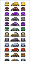 The VW Beetle : Tunes by NOzols