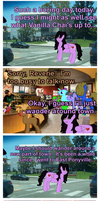 MLP Comic: A Bad Neighborhood by elnachato