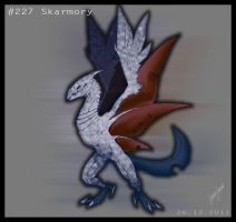 18. December: Skarmory. by Soulfoxii