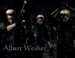 Albert Wesker by AlbertXExcellaLover