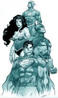 Justice League by marcelomueller