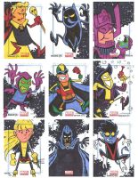 Marvel Universe Sketchcards 07 by thecheckeredman