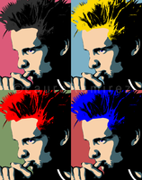 Matthew Bellamy Andy Warhol by LauraRamirez