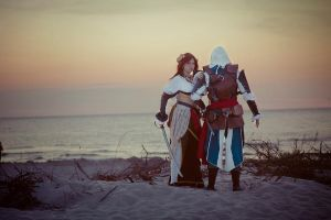 Assassin's Creed 4 : Edward and Anne by theonlyVU