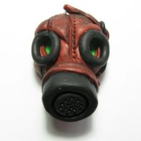 Steampunk Gas Mask by Devilish--Designs