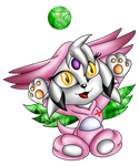 Chansey Neige Chao by EllyTheGee