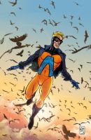 Animal Man - Fan fiction - Issue #1 Cover by ElOctopodo