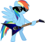 Rainbow Dash - Enter Sandman by MysteriousKaos
