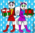 Squirrel Sisters Christmas Shopping by CaseyDecker
