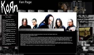 Mock korn fansite by VickiBeWicked