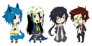 Commish: Chibi Babies for Lainy~ by Cappuchi