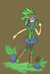 Odd to be an Oddish by cluelesscomedy123