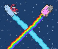 Nyan-Cat-Bug by netcyber
