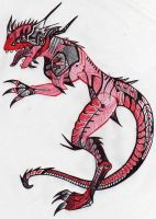 mecanical reptile by Dismay666