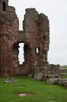 Lindisfarne Priory 7 by RaeyenIrael-Stock
