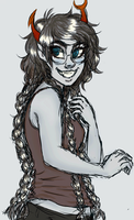 Tattooed Vriska by Natsunohuyana